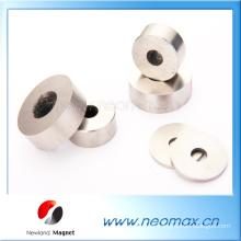 Kundenspezifische AlNiCo-Magnete in dünner Ringform für heißen Verkauf
