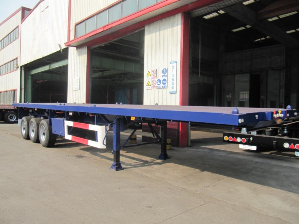 4th Single Tyre Flatbed Air Sus Rf