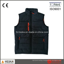 Men′s Waistcoat Quilted Padded Warning Vest
