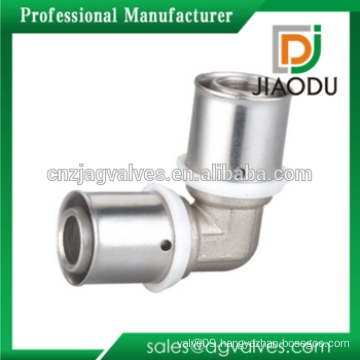 Equal Elbow Brass Press Fittings For PEX-AL-PEX Pipe