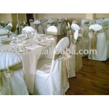 100 % Polyester Stuhlabdeckung, Hotel/Bankett/Hochzeit Stuhlabdeckung