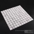 3D Sqaure Calacatta Gold Marble Printing Glass Mosaic
