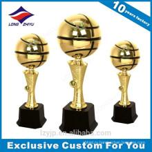 Выполненный На Заказ Металл SportsTrophy Баскетбол Трофей Награды