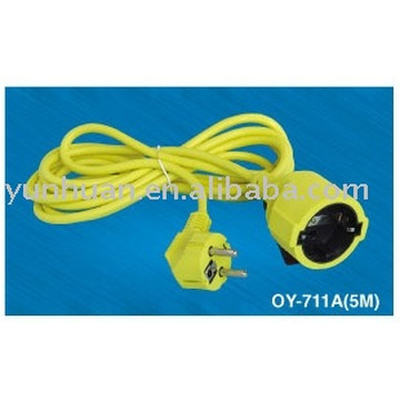 POWER EXTENSION CORD CABLE Line EXTENDING SOCKET