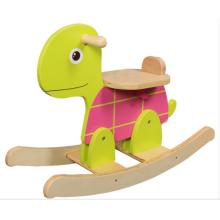 Usine d'approvisionnement à bascule à cheval et à la tortue en bois