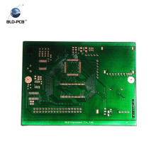 Green solder mask white silk print printed circuit board 94vO
