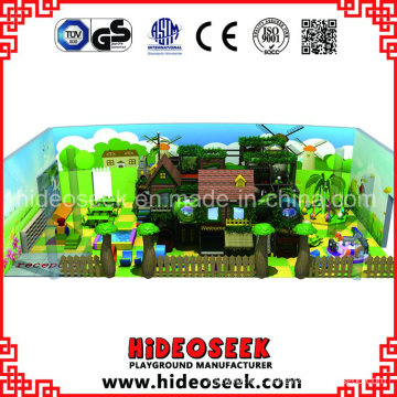 Three House Style Play Center for Supermarket