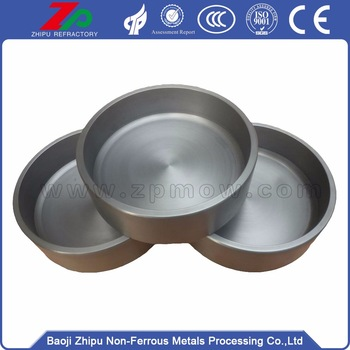 best price lathing 48.85mm molybdenum crucible
