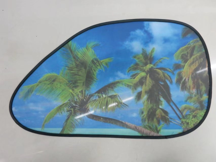 Magnetic Adsorption Side car sunshades