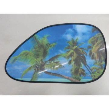 Good Quality for Car Side Window Shades Foldable static car black meshside windshield sunshade export to Guam Supplier