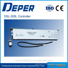 Contrôleur de porte DSL-200L pour porte coulissante en verre automatique