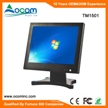 TM1501 Hot 15 Touch Screen POS Monitor Display With Metal Vertical Stand