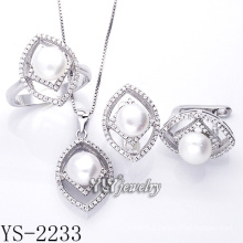Fashion Jewellery Pearl Set 925 Silver