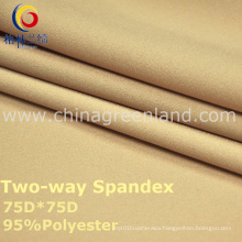 75D Polyester Spandex Woven Fabric for Textile Fashion (GLLML2)