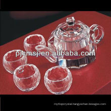 Crystal Tea Pot,crystal dishware,crystal tea set TW-z008