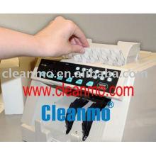 cartes de nettoyage pour le comptoir d'argent