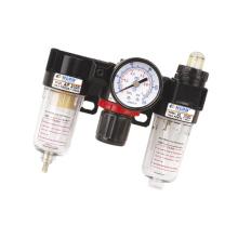 AC BC Series 1/4 inch Three Point Air Filter Regulator Lubricator F.R.L Combination