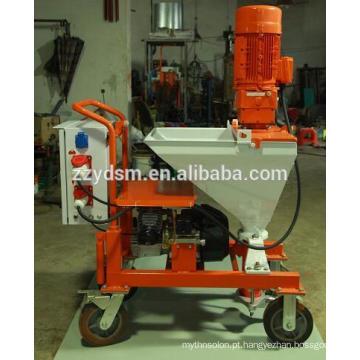 Máquina de pulverização de argamassa de parede portátil
