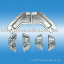 custom made Aluminiumguss CNC Drehmaschine Maschinenteil
