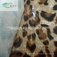 100% хлопок печатных ткани с покрытием ПВХ для животных декоративного рисунка ткани