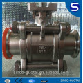 3-piece ball valve cf8m 1000wog