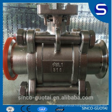 3-piece ball valve cf8m 1000wog