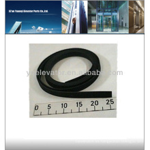Elevador accionamiento por correa de puertas KM601278H03, elevador cinturón plano, elevador cinturón