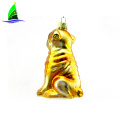 Wholesale cheap hanging dog Christmas ornament
