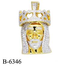 New Design Fashion Jewelry 925 Sterling Silver Pendant for Man