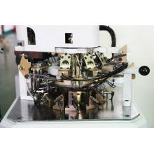 computergesteuerte automatische 3,75 Plain zwei Feed Socke Maschine