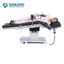Table d'opération médicale hydraulique multifonctionnelle A100 électrique
