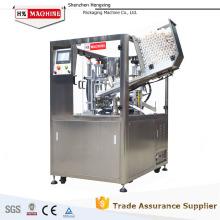 fabricación de sellador de tubo plástico suave cosmético de pequeña empresa, máquina de sellado de tubo de ungüento