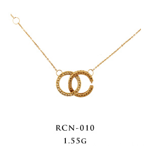 Kalung Interlocking 18K Yellow Gold