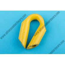 Dévidoir galvanisé standard de corde de fil de levage dans le matériel