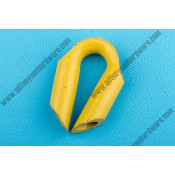 Hardware de aparejo del dedal de cable de cuerda de alambre