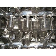 Mezclador de paletas de doble gravedad tipo eje WZ, secador de vacío rotativo de doble cono SS, mezcladora tec horizontal
