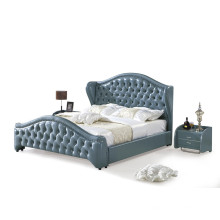 Modern Lether Home Bedroom Set