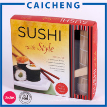 Custom printed easy take away food box sushi packaging paper box