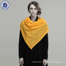 Nouvelle écharpe en laine design Grande écharpe à tricoter Phoenix Down Jacquard ShawlSWW725-12