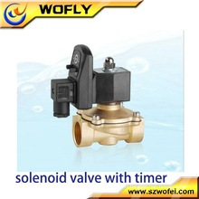 12v 24v solénoïde contrôleur d'eau pour l'irrigation