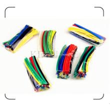 Gaine thermorétractable colorée dans un sac en plastique