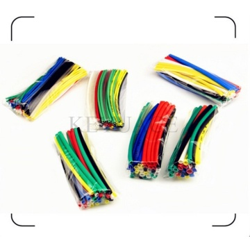 Berwarna Heat Shrink Tubing Pack di Plastic Bag