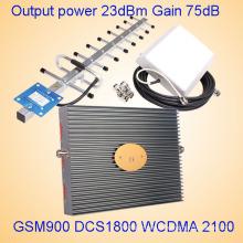 Repetidor de la señal de la venda del G / M 2g 3G 4G Tri