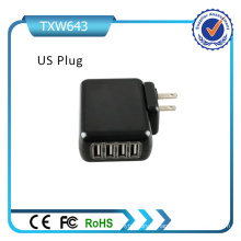 4 USB Universal Plugs Mexico Chargeur