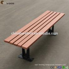 Modern kids wpc outdoor bench