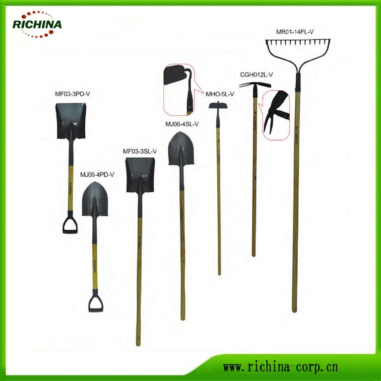 Wood Handle Digging Shovels