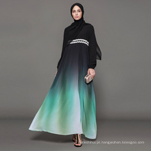 Proprietário Designer marca oem rótulo fabricante mulheres vestido islâmico vestuário personalizado abaya