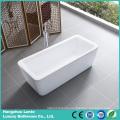 Rectangle Acrylic Freestanding Bathtub (LT-3D)