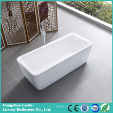 Rectangle Acrylic Freestanding Bathtub (LT-3D)