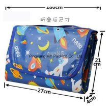 Promotional Environmental Children Foldable Carrying Picnic Beach Mat
